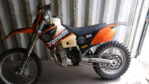 2005 ktm 450 exc dual sport * reduced price need gone