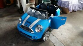 Children's Electric Mini Cooper