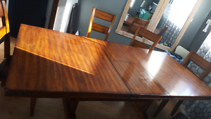 3 yr old kitchen table