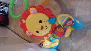 fisher price Baby lion walker