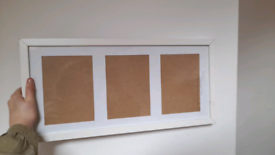2 x photo frames