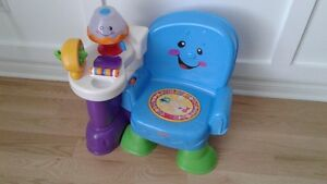 Chaise musicale fisher-price