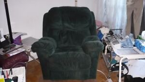 Ensemble Fauteuil inclinable et sofa 3 places inclinables RODI