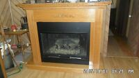 Large Lennox fire place