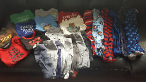 Baby boys clothing 0-6 months