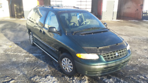 1998 Plymouth Voyager Green Hornet