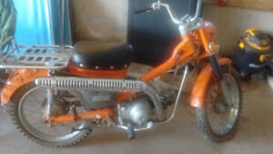 Looking for Honda ct90 with papers