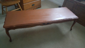 Coffee table. 55 inches
