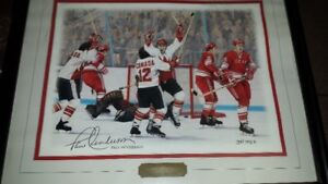 PAUL HENDERSON SIGNED PICTURE FROM 1972