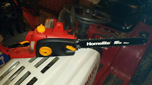 "Homelite 16"" Electric Chainsaw"