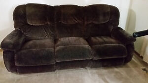 ashley lazy boy recliner love seat and couch