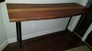 Unique Solid Wood Console Table