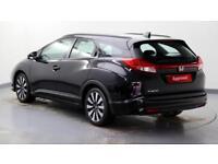 2015 Honda Civic 1.8 i-VTEC SE Plus Petrol black Automatic