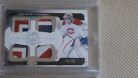 Carey Price The Cup crazy patch card # 6 / 10