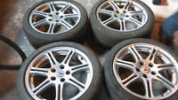 "17"" alloy rims fits acura csx/ honda civic"