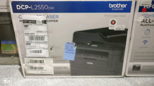 Brother DCPL2550DW Wireless Printer,Copier,Scanner,Fax
