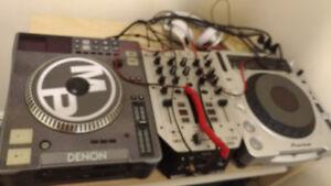 Professional DJ Setup, including premium headphones and more!