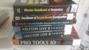 Books about audio engineering and music recording & production