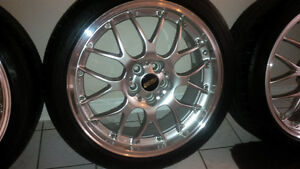 """18"""" 5x100 Authentic BBS RS-GT"""