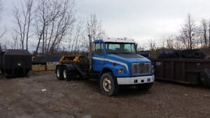 $14,000 FREIGHTLINER ROLL OFF TRUCK READY TO GO