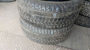 Pair of 2 Sunfull SF982 245/45R18 WINTER tires (70% tread life)