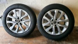 "Renault KADJAR 17"" alloys x2"