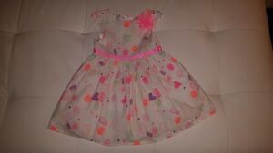 Candy and Hearts Girls Size 3T Cotton Dress