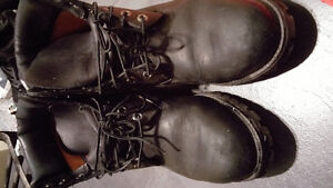 Timberland leather boots M/8