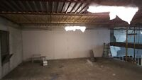 Drywall Hanging and Tapping
