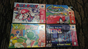 In box Nintendo 64 games