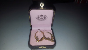 Juicy Couture Gold Earrings