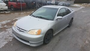 2002 HONDA CIVIC COUPE  *** WINTER CLEAROUT SALE *** ONLY $999