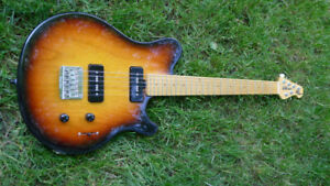 Ernie Ball Music Man Axis Sport / MM90 (P90) Sunburst