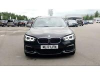 2017 BMW 1 Series M140i 5dr [Nav] Step Auto Hatchback petrol Automatic
