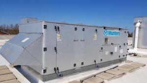 Munters Hvac roof top unit