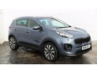 2016 Kia Sportage 2016 16 kIA Sportage 3 1.7 CRDI IS G New Model Diesel blue Man