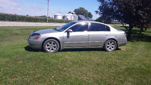 2002 Nissan Altima safetied and etested