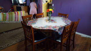 Dinning room Table and  7 Chairs