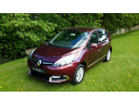 2015 '65' RENAULT SCENIC DCi DIESEL DYNAMIQUE NAV WITH JUST 7500 MILES!