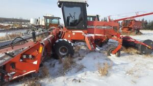 Massey 220 Swather