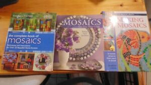 MOSAIC HOW TO BOOKS (3) ARTS & CRAFTS