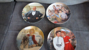 """Annie"" collector plates from Knowles(4)"