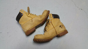 "BEATER Timberland 6"" Nubuck Boots Size 9.5 Mens"