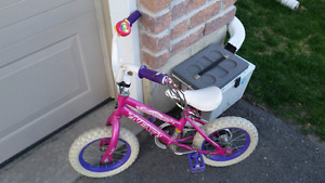 "girls bike.  12"" wheels."
