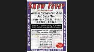 2nd Annual Antique Snowmobile Show And Swap Meet