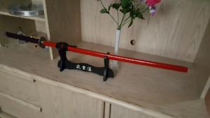 Decorative KATANA sword kit / Ensemble décoratif d'épée KATANA