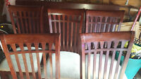 Solid Wooden Dinning Set Table+Chairs *******MUST GO*******