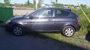2009 Hyundai accent Saftied and e-tested