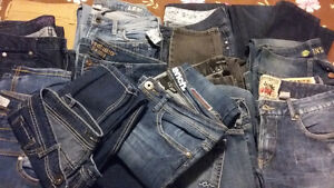 14 Pairs of Quality Jeans Sizes 8/9