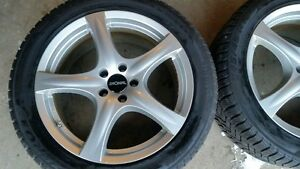 4x 18x8 5x108 R41 5-Spoke Lightweight Alloy Wheels, $360/SET!!!